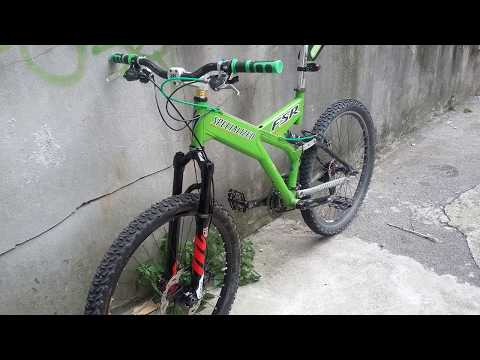 6553a48921e 1998 SPECIALIZED FSR Extreme Ground Control vintage bicycle street downhill  via Commerciale - YouTube