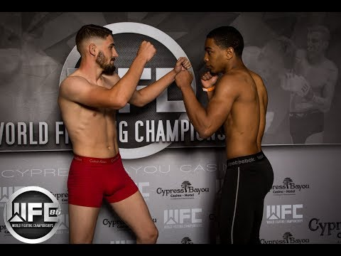 WFC 86| Nick Boudreaux Vs Tiquinton Fisher May 12, 2018 At Cypress Bayou Casino