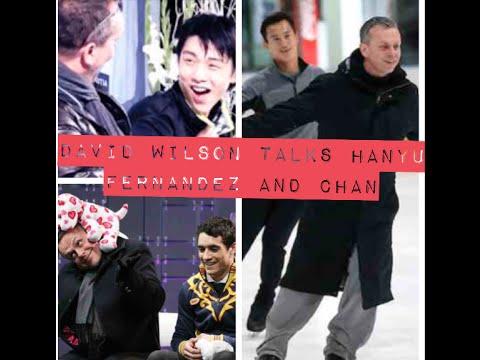 David Wilson Talks to TSL about Hanyu, Fernandez and Chan