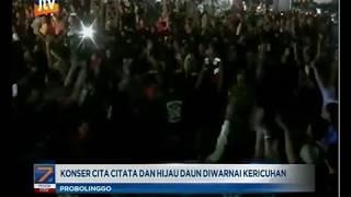 www.pojokpitu.com : Konser Rock Dangdut Cita Citata dan Hijau Daun Diwarnai Kericuhan