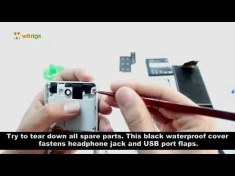 Sony Xperia ZR Disassembly