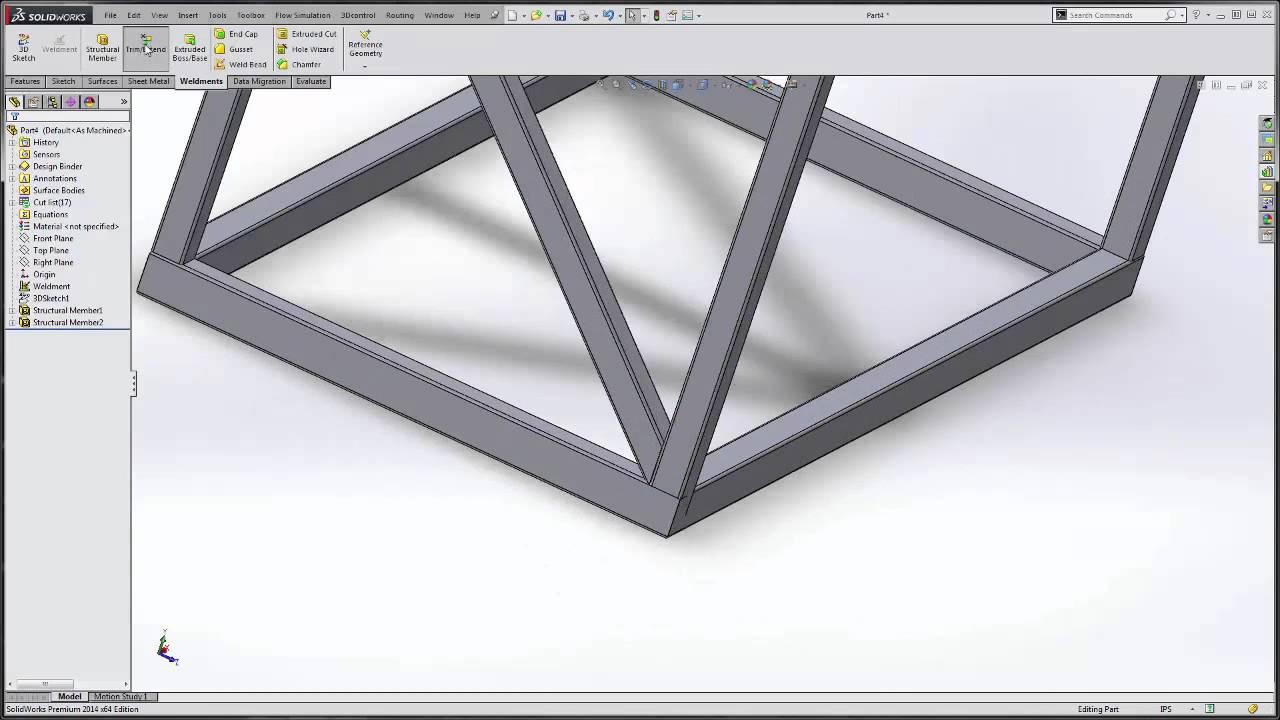 SOLIDWORKS - Designing a Structural Skid
