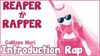 [Original Rap] ReaperかRapper? 自己紹介ラップ - Calliope Mori #holoMyth #hololiveEnglish