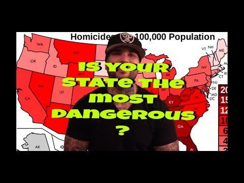 TOP 30 Most DANGEROUS CITIES In The U.S. For 2017 What STATE Is #1