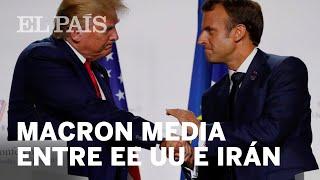 Macron promueve una cumbre entre Trump y el presidente iraní