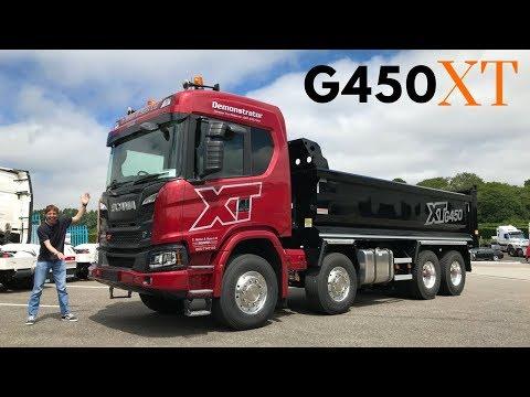 2018 SCANIA XT G450 Tipper Truck - Full Tour & Test Drive