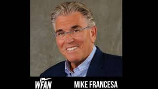 Mike Francesa show open on Yankees Astros ALCS games 4 and 5 WFAN