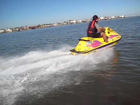 1996 Seadoo Xp >> seadoo xp galveston bay - YouTube