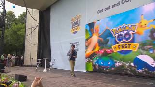 CEO of Niantic booed on stage during Pokemon Go Fest 2017 in Chicago, Illinois thumbnail
