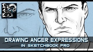 How to Draw Comics - Angry Man's Face - Art Tutorial - Video(In this How to Draw Comics Video I explain the process of drawing a man with an angry facial expression. It is very important to practice all the various ..., 2015-10-04T17:17:20.000Z)