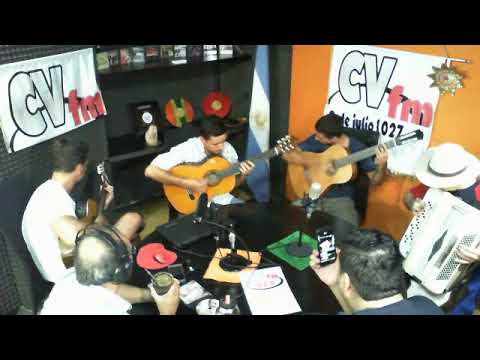 Jorge Güenaga y su cuarteto litoral en CV FM 93.5 (19-01-18)
