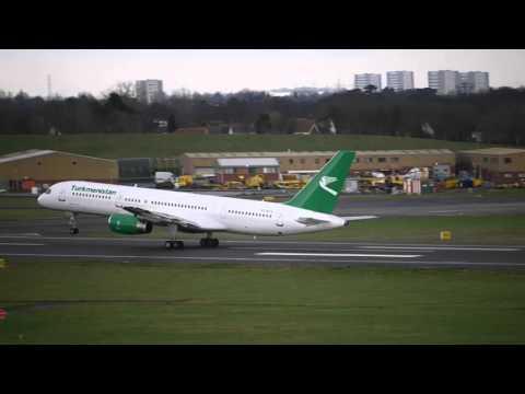 Turkmenistan Airlines Flight 426 (BHX to Ashgabat)