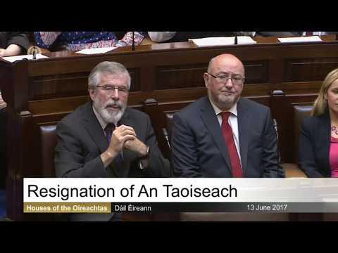 Enda Kenny's final speech as Taoiseach