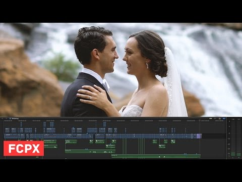How to Edit a Wedding Film - Beth & Phil - FCPX