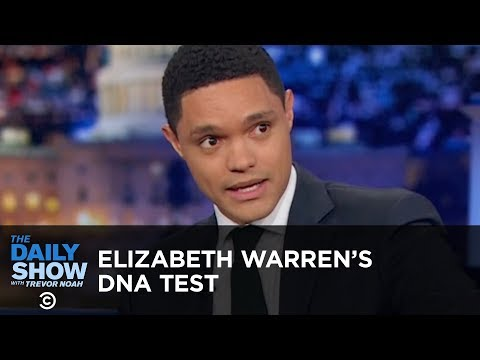 Elizabeth Warren's DNA Test - Between the Scenes | The Daily Show