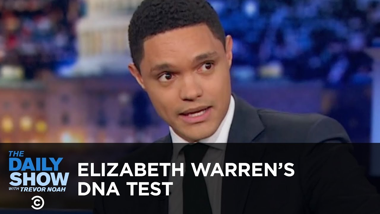 Elizabeth Warren's DNA Test - Between the Scenes   The Daily Show