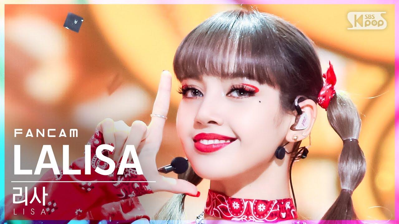 Download [안방1열 직캠4K] 리사 'LALISA' (LISA FanCam)│@SBS Inkigayo_2021.09.19.