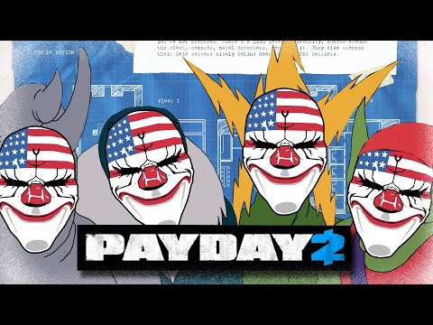 Forcing my friends to do stealth missions in Payday 2 |