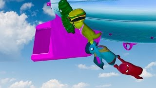 SUPER PERSON CHAIN! - GANG BEASTS