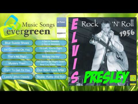 Elvis Presley Rockn Roll Full Album 1956 the first album of Elvis
