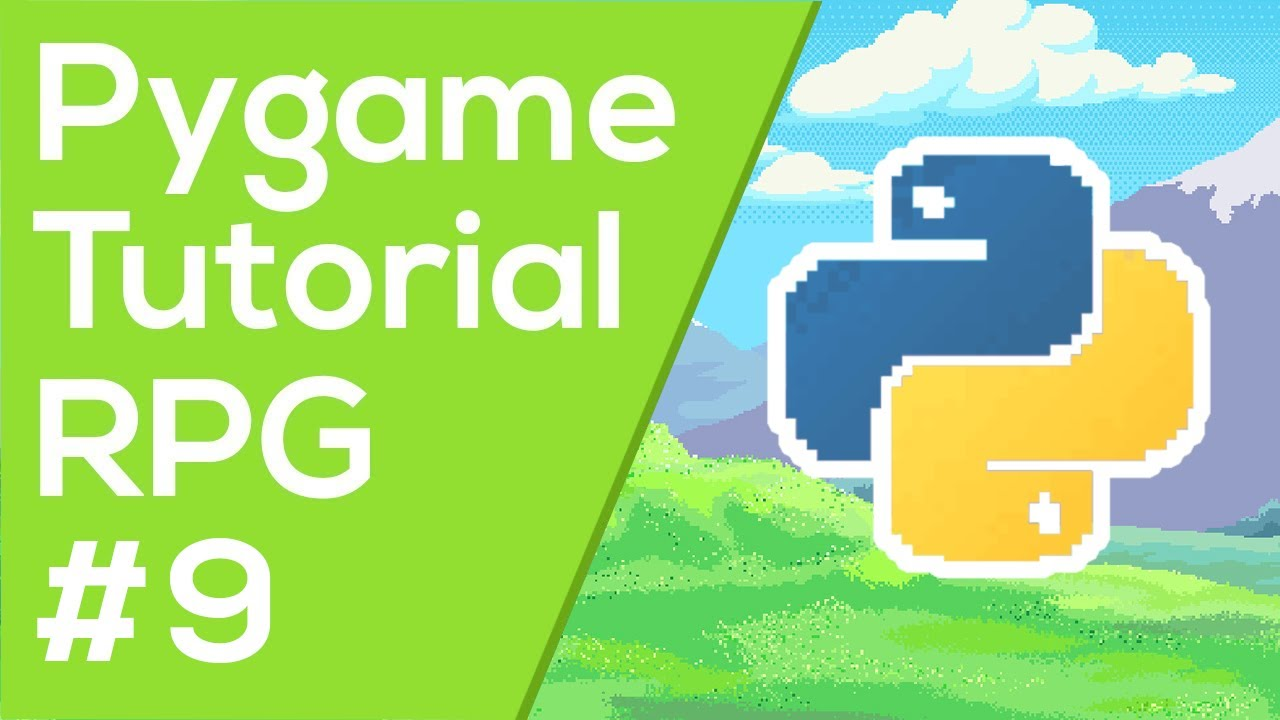 Pygame Menu / Intro Screen - Pygame RPG Tutorial #9