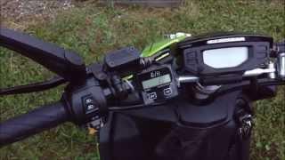 Roller Drehzahlmesser einbauen Peugeot Yamaha usw.