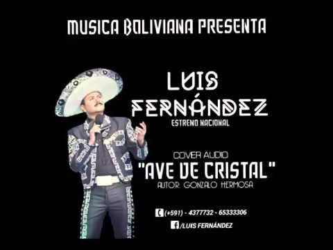 """Luis Fernández """" Ave de cristal """""""