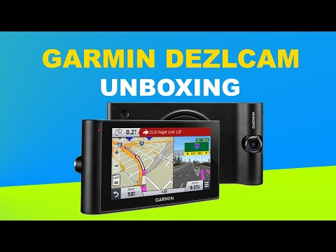 Garmin DezlCam LMT Unboxing HD (010-01457-11)