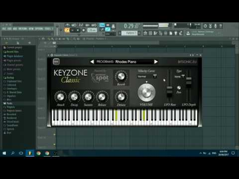 KeyZone Classic 1 0 | New Free Piano Plugin Review
