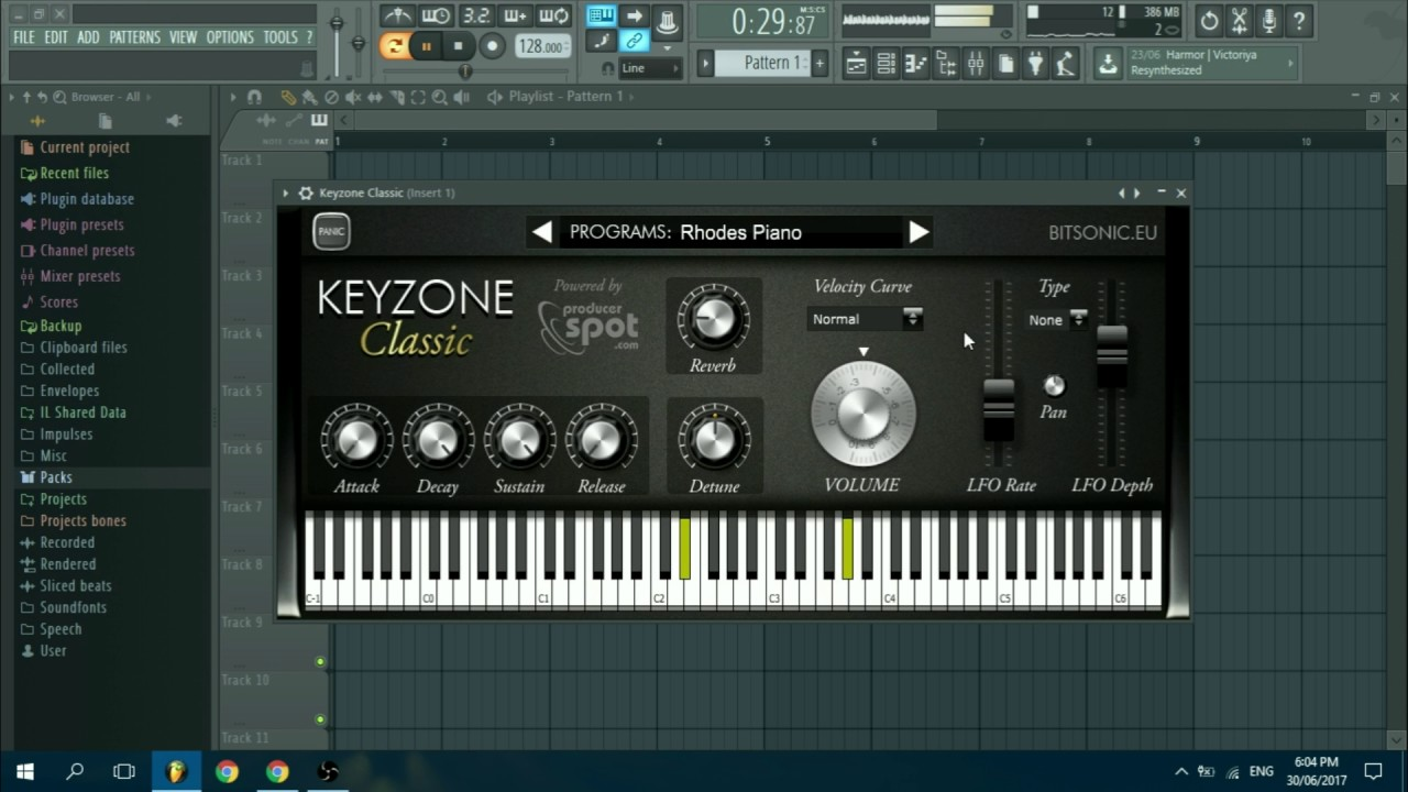 KeyZone Classic 1.0 | Free Piano Plugin
