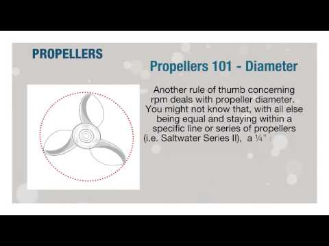 Yamaha Propellers 101 Continued