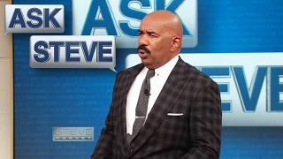 Ask Steve: People think I'm a man... || STEVE HARVEY