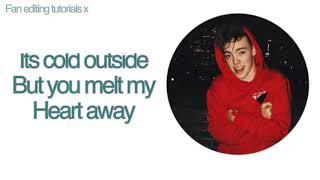 Kiss you this Christmas- Why don't we (LYRICS) MP3