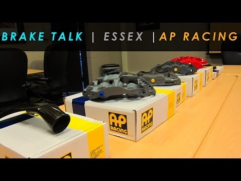 Brake Tech and Interviews | AP Racing Essex | SE0203