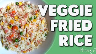 Veggie Fried Rice | Yummy breakfast recipe