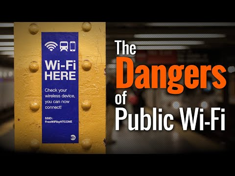 The Dangers of Public Wi-Fi