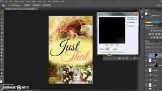 Photoshop CC, CS5, CS6: Simple Wattpad book cover Tutorial