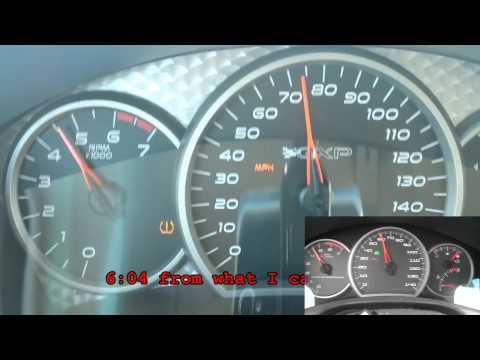 Pontiac Grand Prix GXP 0-60 vs. Pontiac Grand Prix GTP Comp-G 0-60