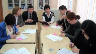 Өрлеу біліктілікті арттыру ұлттық орталығының мамандары Назарбаев Зияткерлік мектебінің ұстаздарынан