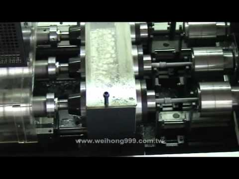 Deep Hole Drilling Machine, Gun Drill, Gun Drilling Machine, PW300 4DS coolant nozzle