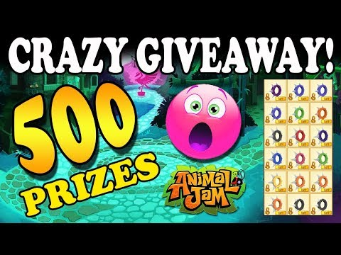 Largest Animal Jam Giveaway Ever! 500+ Prizes 🎁 Enter Now!