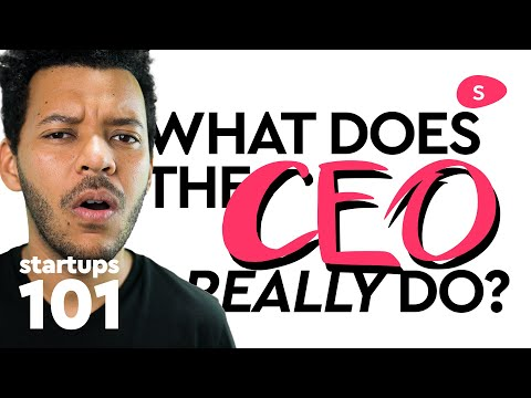 What Does a Startup CEO Do: Roles and Responsibilities - Entrepreneur Life