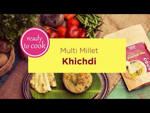 Millet Recipes - How to prepare multi millet Khichdi in a jiffy! Delight Foods Recipes