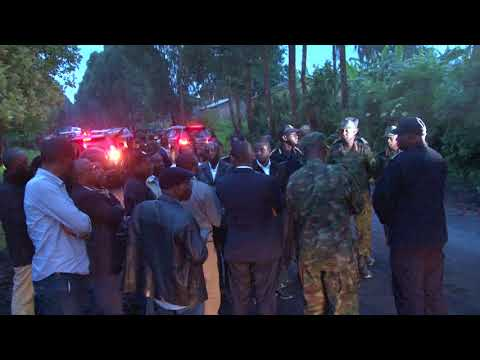 PM Ngirente visits affected area in Cyanika, Burera District