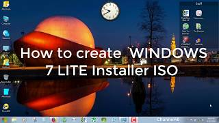 windows 7 tiny unattended activated cd iso