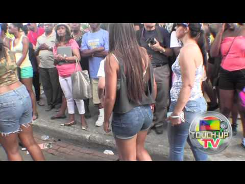 Caribana 2015 Toronto  TOUCH-UP TV Walking With Some Bands On The Streets