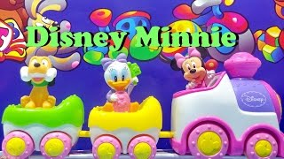 Clementoni Disney Baby Minnie Musical Train ❤ Baby Toy With Light And Sound
