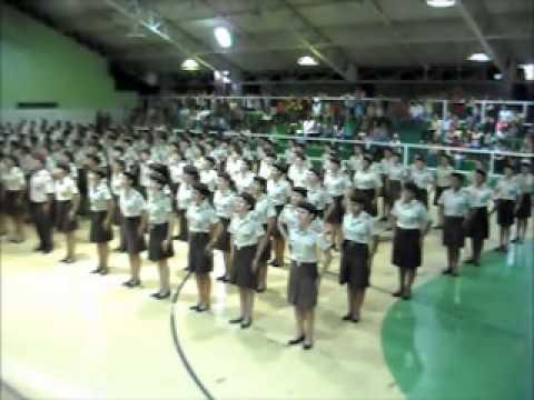 Posição das boinas - Colégio da Polícia Militar (Anápolis-GO) - YouTube 079cbec0cb4