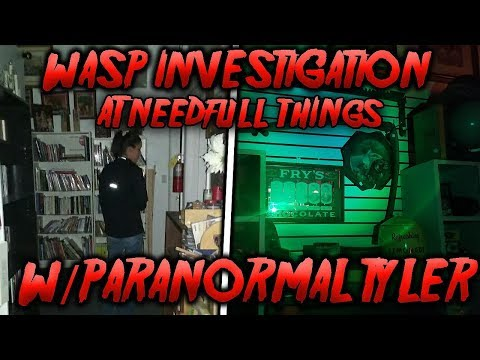 Needful Things investigation with Paranormal Tyler