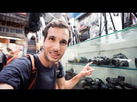 Inside A Camera Market In India